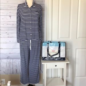 EUC Vineyard Vines Long Sleeve Sleepwear Set